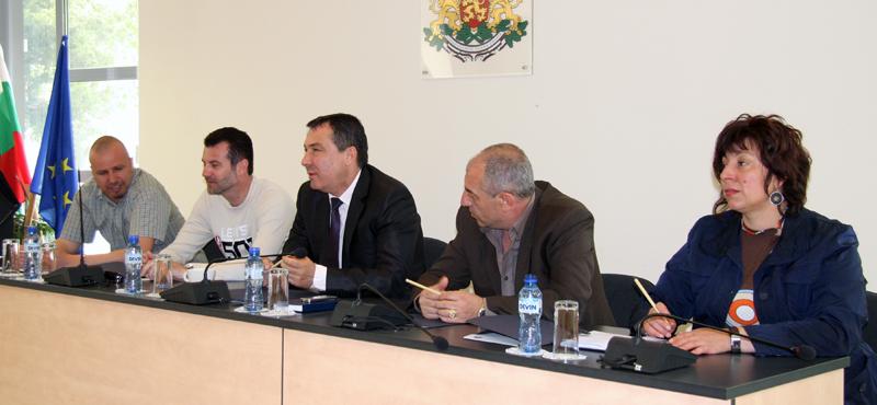 Диалог между кмет и жители на стария Несебър
