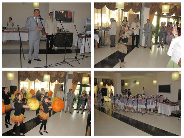 Кметът на Община Несебър Николай Димитров, официално откриване на Морска Академия – Лято 2011