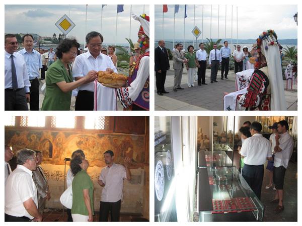Китайският посланик на визита в Несебър