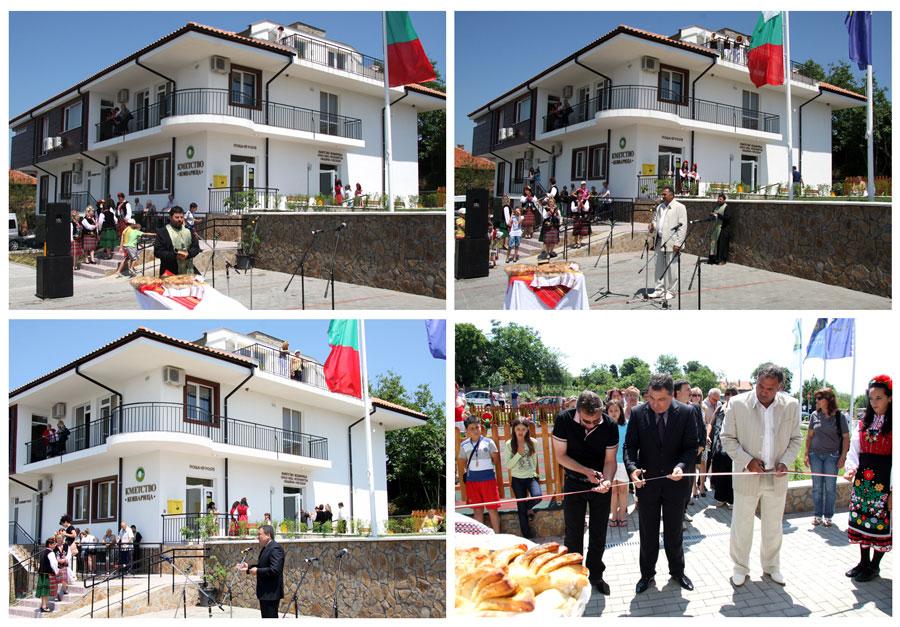 нова сграда кметсво Кошарица община Несебър