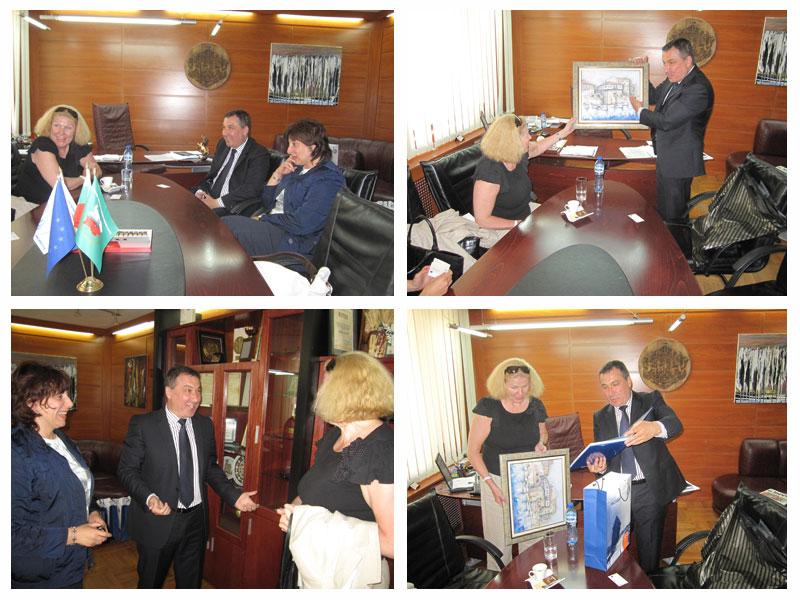 Нейно Превъзходителство Юдит Ланг посланик на Унгария